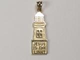 Miscellaneous Charms - Jewelry Stores - Jesus is the Light Charm