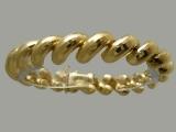 Gold But Gold - Jewelry Stores - San Marco Bracelet Diamond Cut 11 mm
