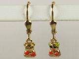 Baby Earrings - Jewelry Stores - Mr. & Mrs. Panda Baby Earrings Lever Back
