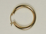 Yellow Gold Hoops - Jewelry Stores - Hoops 41 mm