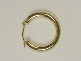 Yellow Gold Hoops - Jewelry Stores - Hoops 28 mm