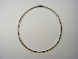 Yellow Gold Necklaces - Jewelry Stores - Omega Necklace 6 mm
