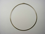 Yellow Gold Necklaces - Jewelry Stores - Omega Necklace 4 mm