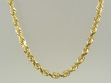 Gold But Gold - Jewelry Stores - 10K Super-Solid Rope Chain 5 mm