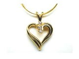Jewels But Jewels - Jewelry Stores - Diamond Heart Fashion Pendant