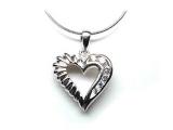 Fashion Pendants - Jewelry Stores - Diamond Heart Fashion Pendant
