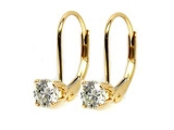 Jewels But Jewels - Jewelry Stores - Prong on Leverback Earrings
