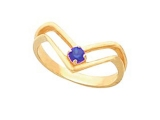 Sapphire Rings - Jewelry Stores - Genuine Blue Sapphire Ring