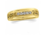 Mens wedding bands - Jewelry Stores - Mens Diamond Band