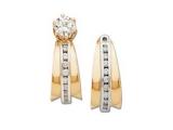Stud Earring Jackets - Jewelry Stores - DiscoD Diamond Jacket Earrings