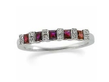 Jewels But Jewels - Jewelry Stores - Diamond and Ruby Anniversary Band