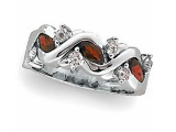 Jewels But Jewels - Jewelry Stores - Genuine Ruby and Diamond Anniversary Ring