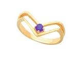 Tanzanite Rings - Jewelry Stores - Genuine Purpule Tanzanite Ring