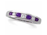Jewels But Jewels - Jewelry Stores - Diamond and Tanzanite Anniversary Band