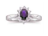 Jewels But Jewels - Jewelry Stores - Genuine Purpule Tanzanite and Diamond Ring