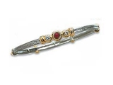 Jewels But Jewels - Jewelry Stores - Three Stone Diamond and Ruby Two-tone Bangle