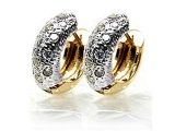 - Jewelry Stores - Diamond Fashion Two-Tone Fashion Earrings