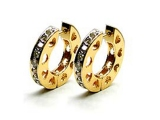 Jewels But Jewels - Jewelry Stores - Diamond Fashion Love Huggie Earrings