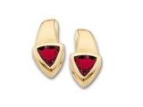 Ruby Earrings - Jewelry Stores - Genuine Red Ruby Earrings