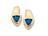 Sapphire Earrings - Jewelry Stores - Genuine Blue Sapphire Earrings