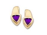 Tanzanite Earrings - Jewelry Stores - Genuine Purpule Tanzanite Earrings