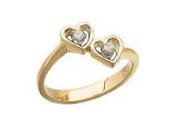 Diamond Promise Ring - Jewelry Stores - Diamond Heart Promise Ring