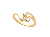 Diamond Promise Ring - Jewelry Stores - 3 Stone Promise Ring