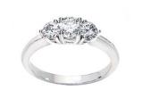 3 Stone Diamond Ring - Jewelry Stores - 3 Stone Diamond Ring