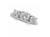 - Jewelry Stores - Diamond 3 Stone Anniversary Band