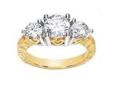 - Jewelry Stores - 3 Stone Diamond Ring