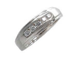 Mens Diamond Rings - Jewelry Stores - Mens Diamond 5 Stone Ring