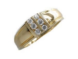 Mens Diamond Rings - Jewelry Stores - Mens Diamond Channel Set Ring