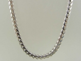 White Gold Chains - Jewelry Stores - Super-Solid Franco Chain 4.5 mm