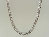 White Gold Chains - Jewelry Stores - Super-Solid Franco Chain 5.5 mm